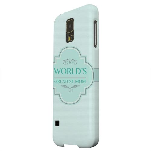 Geeks Designer Line (GDL) Samsung Galaxy S5 Matte Hard Back Cover - Vintage World's Greatest Mom