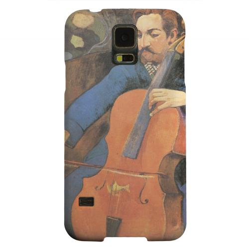 Geeks Designer Line (GDL) Samsung Galaxy S5 Matte Hard Back Cover - The Cellist by Paul Gauguin