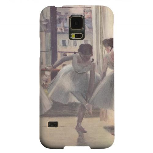 Geeks Designer Line (GDL) Samsung Galaxy S5 Matte Hard Back Cover - Three Dancers in an Exercise Hall by Edgar Degas