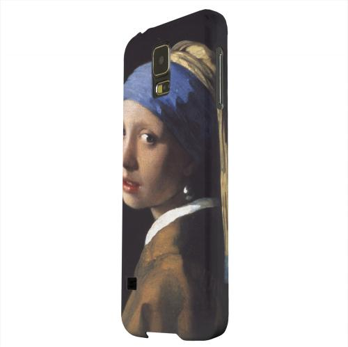Geeks Designer Line (GDL) Samsung Galaxy S5 Matte Hard Back Cover - Girl with a Pearl Earring by Jan Vermeer