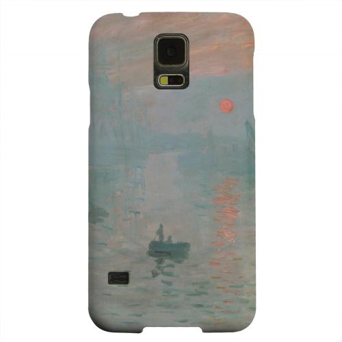 Geeks Designer Line (GDL) Samsung Galaxy S5 Matte Hard Back Cover - Impression Sunrise by Claude Monet