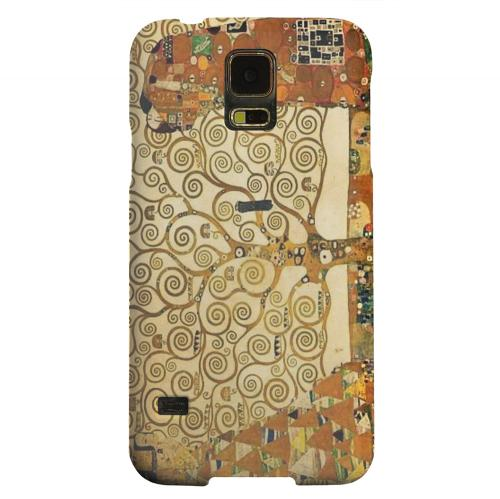 Geeks Designer Line (GDL) Samsung Galaxy S5 Matte Hard Back Cover - Tree of Life by Gustav Klimt