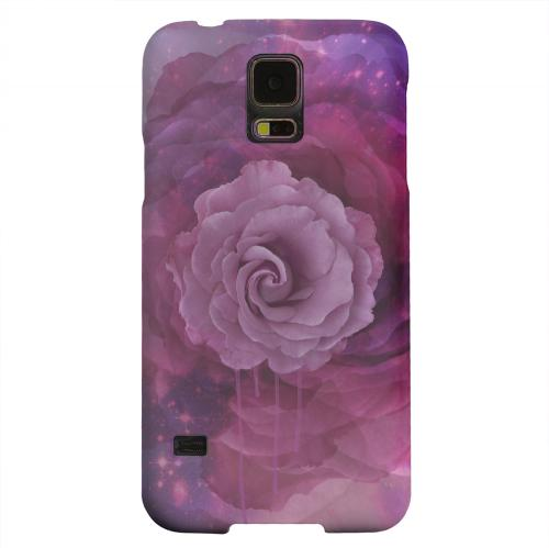 Geeks Designer Line (GDL) Samsung Galaxy S5 Matte Hard Back Cover - Space Bloom