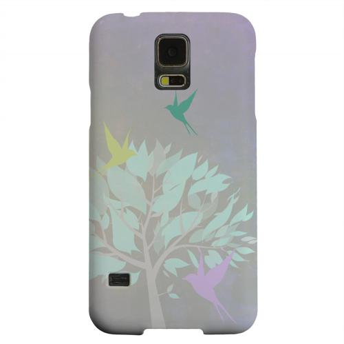 Geeks Designer Line (GDL) Samsung Galaxy S5 Matte Hard Back Cover - Swallow Flight