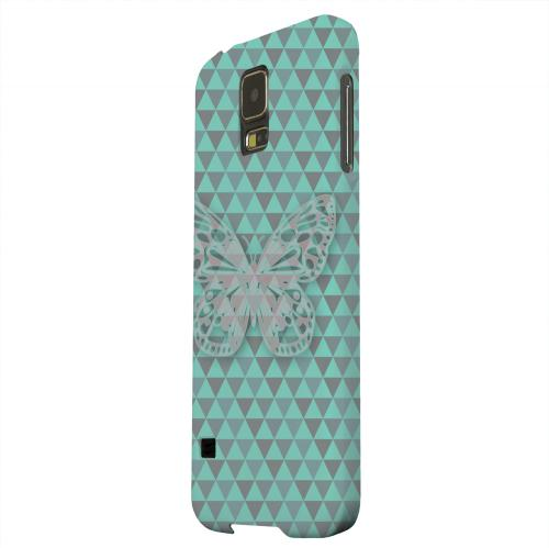 Geeks Designer Line (GDL) Samsung Galaxy S5 Matte Hard Back Cover - Butterfly Crypsis