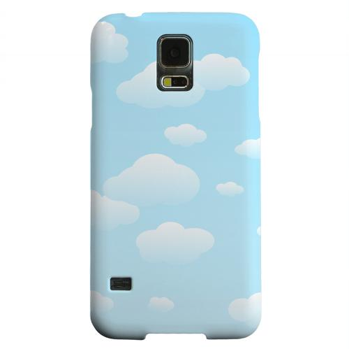Geeks Designer Line (GDL) Samsung Galaxy S5 Matte Hard Back Cover - Peaceful Clouds