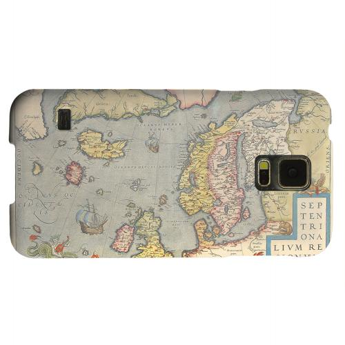 Geeks Designer Line (GDL) Samsung Galaxy S5 Matte Hard Back Cover - Ancient Map of Europe