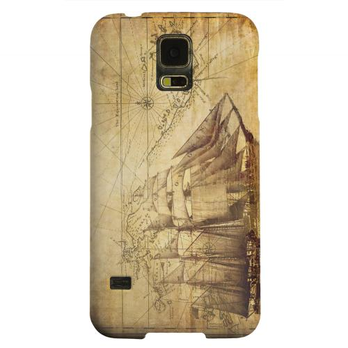 Geeks Designer Line (GDL) Samsung Galaxy S5 Matte Hard Back Cover - British Sea Power