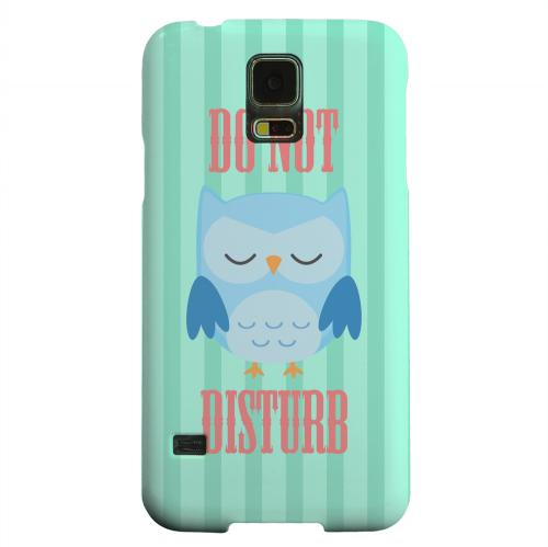 Geeks Designer Line (GDL) Samsung Galaxy S5 Matte Hard Back Cover - Do Not Disturb