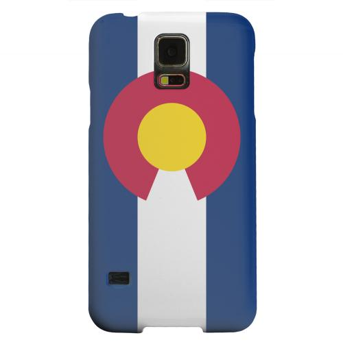 Geeks Designer Line (GDL) Samsung Galaxy S5 Matte Hard Back Cover - Colorado