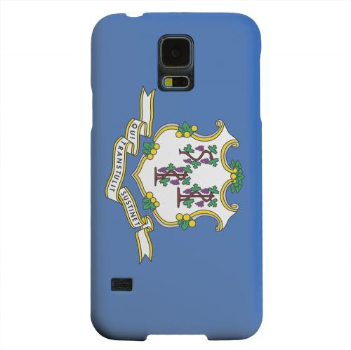 Geeks Designer Line (GDL) Samsung Galaxy S5 Matte Hard Back Cover - Connecticut