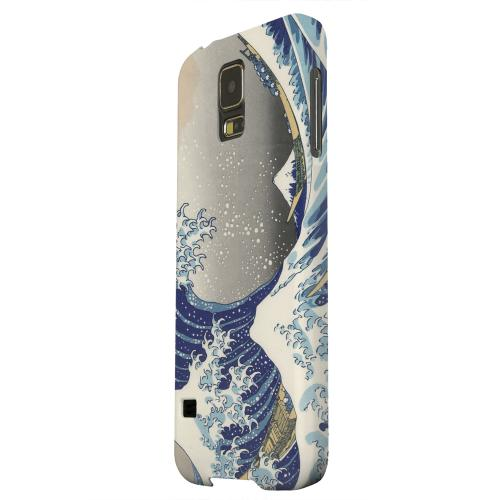 Geeks Designer Line (GDL) Samsung Galaxy S5 Matte Hard Back Cover - Katsushika Hokusai The Great Wave Off Kanagawa