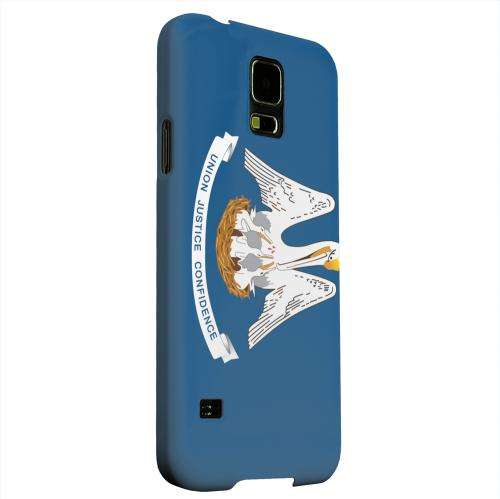 Geeks Designer Line (GDL) Samsung Galaxy S5 Matte Hard Back Cover - Louisiana