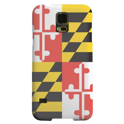 Geeks Designer Line (GDL) Samsung Galaxy S5 Matte Hard Back Cover - Maryland
