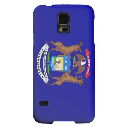 Geeks Designer Line (GDL) Samsung Galaxy S5 Matte Hard Back Cover - Michigan