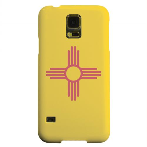 Geeks Designer Line (GDL) Samsung Galaxy S5 Matte Hard Back Cover - New Mexico
