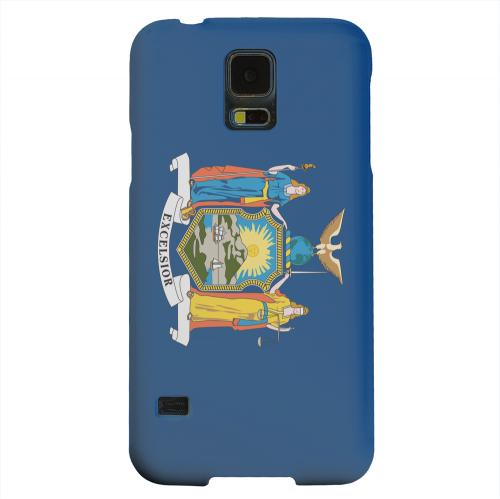 Geeks Designer Line (GDL) Samsung Galaxy S5 Matte Hard Back Cover - New York
