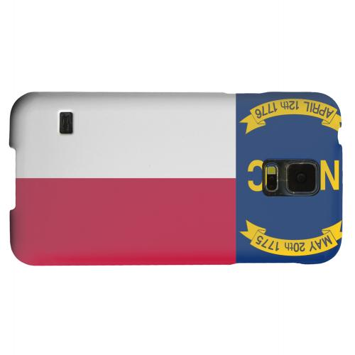 Geeks Designer Line (GDL) Samsung Galaxy S5 Matte Hard Back Cover - North Carolina