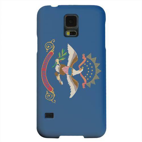 Geeks Designer Line (GDL) Samsung Galaxy S5 Matte Hard Back Cover - North Dakota