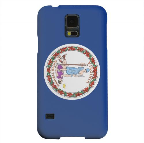 Geeks Designer Line (GDL) Samsung Galaxy S5 Matte Hard Back Cover - Virginia