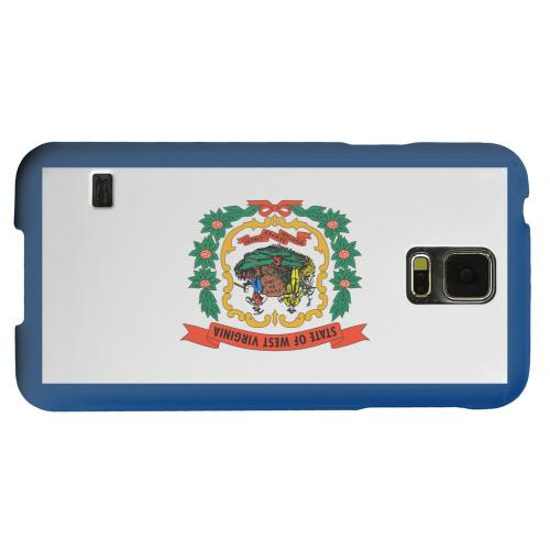 Geeks Designer Line (GDL) Samsung Galaxy S5 Matte Hard Back Cover - West Virginia
