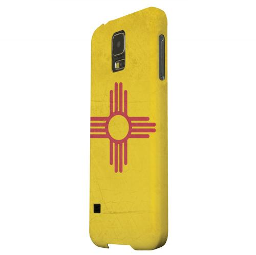 Geeks Designer Line (GDL) Samsung Galaxy S5 Matte Hard Back Cover - Grunge New Mexico