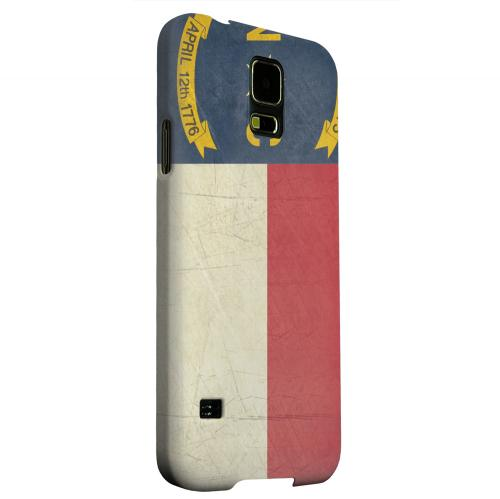 Geeks Designer Line (GDL) Samsung Galaxy S5 Matte Hard Back Cover - Grunge North Carolina