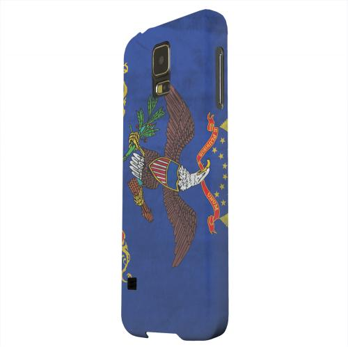 Geeks Designer Line (GDL) Samsung Galaxy S5 Matte Hard Back Cover - Grunge North Dakota