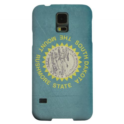 Geeks Designer Line (GDL) Samsung Galaxy S5 Matte Hard Back Cover - Grunge South Dakota
