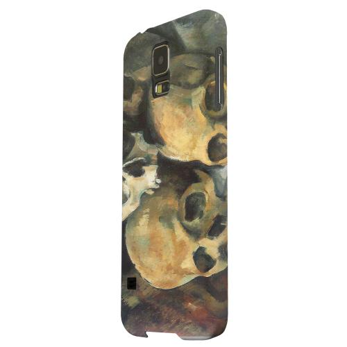 Geeks Designer Line (GDL) Samsung Galaxy S5 Matte Hard Back Cover - Paul Cezanne Pyramid of Skulls