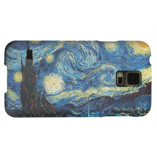 Geeks Designer Line (GDL) Samsung Galaxy S5 Matte Hard Back Cover - Vincent Van Gogh Starry Night