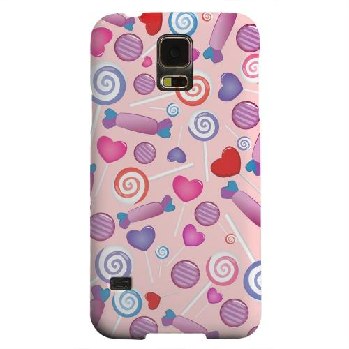 Geeks Designer Line (GDL) Samsung Galaxy S5 Matte Hard Back Cover - Assorted Candy
