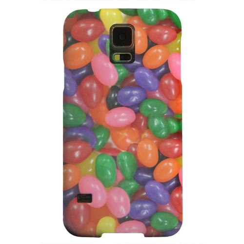 Geeks Designer Line (GDL) Samsung Galaxy S5 Matte Hard Back Cover - Assorted Jelly Beans