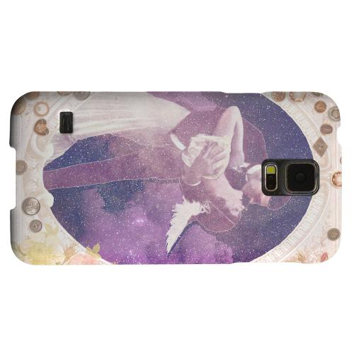 Geeks Designer Line (GDL) Samsung Galaxy S5 Matte Hard Back Cover - A Midsummer Night Swoon