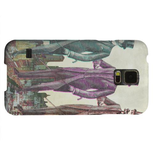 Geeks Designer Line (GDL) Samsung Galaxy S5 Matte Hard Back Cover - New York Like A Sir