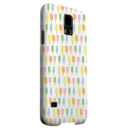 Geeks Designer Line (GDL) Samsung Galaxy S5 Matte Hard Back Cover - Assorted Popsicles