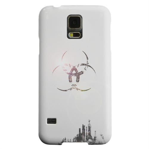 Geeks Designer Line (GDL) Samsung Galaxy S5 Matte Hard Back Cover - Ghost Town