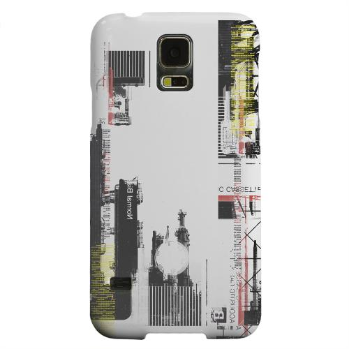 Geeks Designer Line (GDL) Samsung Galaxy S5 Matte Hard Back Cover - Industrial District