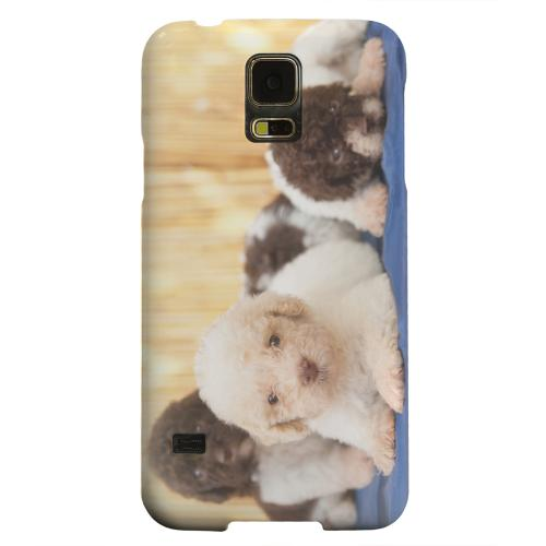 Geeks Designer Line (GDL) Samsung Galaxy S5 Matte Hard Back Cover - Three Buddies