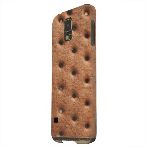Geeks Designer Line (GDL) Samsung Galaxy S5 Matte Hard Back Cover - Ice Cream Sandwich