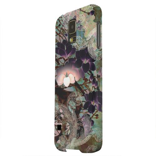 Geeks Designer Line (GDL) Samsung Galaxy S5 Matte Hard Back Cover - Lacy Flowers