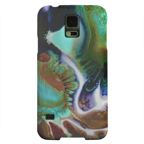 Geeks Designer Line (GDL) Samsung Galaxy S5 Matte Hard Back Cover - Shades of Eunmi