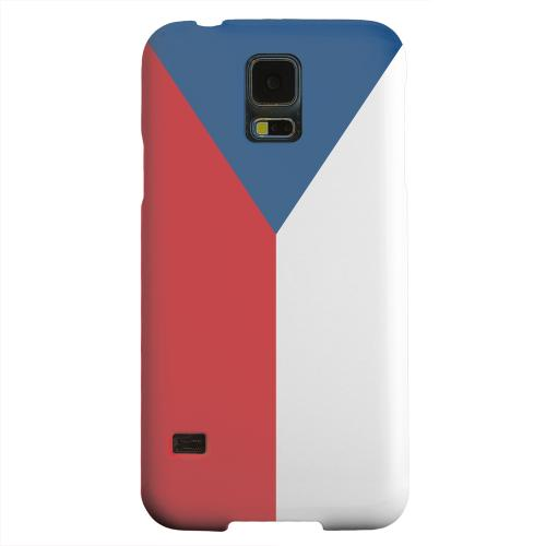 Geeks Designer Line (GDL) Samsung Galaxy S5 Matte Hard Back Cover - Czech Republic