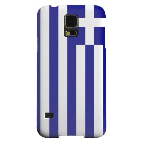 Geeks Designer Line (GDL) Samsung Galaxy S5 Matte Hard Back Cover - Greece