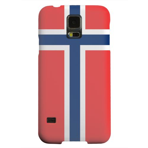 Geeks Designer Line (GDL) Samsung Galaxy S5 Matte Hard Back Cover - Norway
