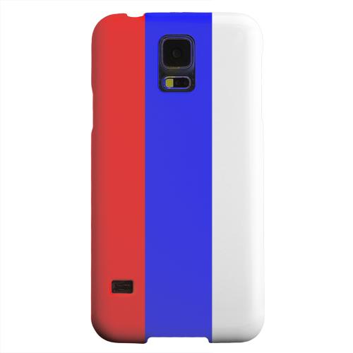 Geeks Designer Line (GDL) Samsung Galaxy S5 Matte Hard Back Cover - Russia