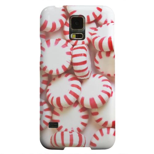 Geeks Designer Line (GDL) Samsung Galaxy S5 Matte Hard Back Cover - Peppermints