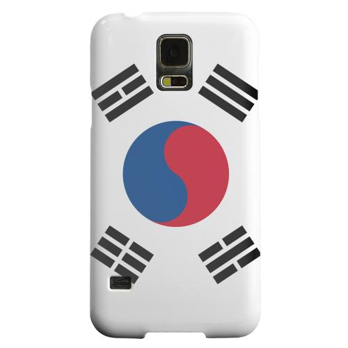 Geeks Designer Line (GDL) Samsung Galaxy S5 Matte Hard Back Cover - South Korea