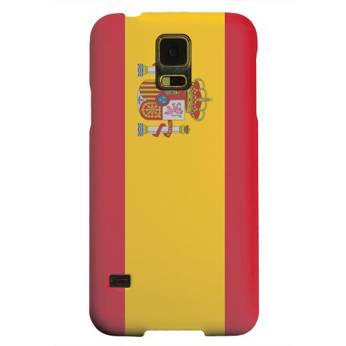 Geeks Designer Line (GDL) Samsung Galaxy S5 Matte Hard Back Cover - Spain