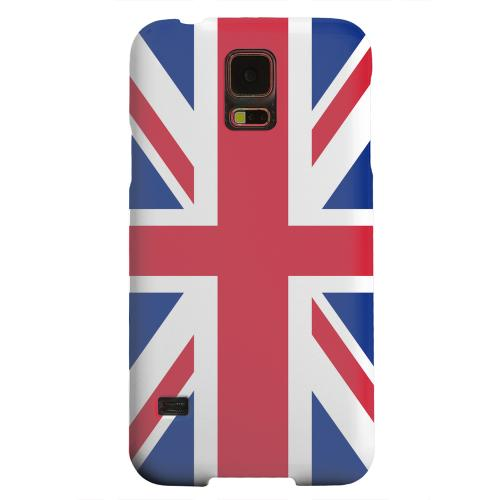 Geeks Designer Line (GDL) Samsung Galaxy S5 Matte Hard Back Cover - United Kingdom